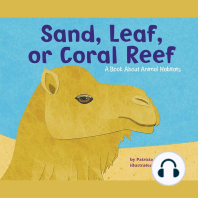 Sand, Leaf, or Coral Reef