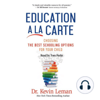 Education a la Carte