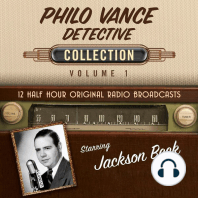 Philo Vance, Detective, Collection 1