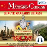 Minute Mandarin Chinese