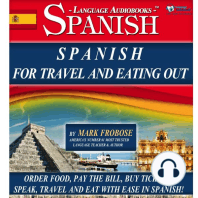 Spanish for Travel and Eating Out