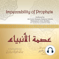 Impeccability of Prophets