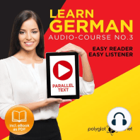 Learn German - Audio-Course No. 3