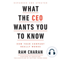 What the CEO Wants You To Know, Expanded and Updated