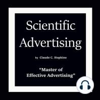 "Scientific Advertising: ""Master of Effective Advertising"""