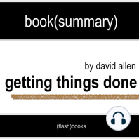 Book Summary of Getting Things Done by David Allen