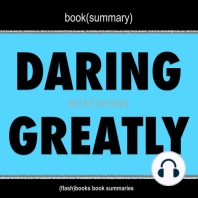 Book Summary of Daring Greatly by Brené Brown