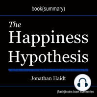 Book Summary of The Happiness Hypothesis by Jonathan Haidt