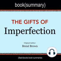 Book Summary of The Gifts of Imperfection by Brené Brown