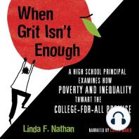 When Grit Isn't Enough