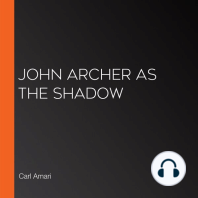 John Archer as the Shadow