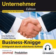 CD WISSEN - Unternehmeredition - Business-Knigge
