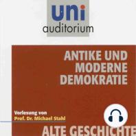 Antike und moderne Demokratie