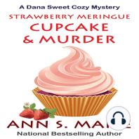 Strawberry Meringue Cupcake & Murder