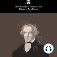 A Macat Analysis of Immanuel Kant's Critique of Pure Reason
