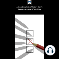 A Macat Analysis of Robert Dahl's Democracy and Its Critics
