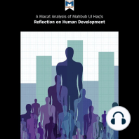 A Macat Analysis of Mahbub ul Haq's Reflections on Human Development