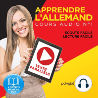 Apprendre l'Allemand - Écoute Facile - Lecture Facile - Texte Parallèle Cours Audio, No. 1 [Learn German - Easy Listening - Easy Reader - Parallel Text Audio Course, No. 1]