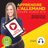 Apprendre l'Allemand - Écoute Facile - Lecture Facile - Texte Paralléle Cours Audio, No. 2 [Learn German - Easy Listening - Easy Reader - Parallel Text Audio Course No. 2]