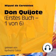 Don Quijote (Erstes Buch) [1 von 6]