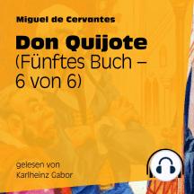Don Quijote (Fünftes Buch) [6 von 6]