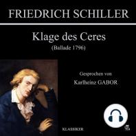 Klage des Ceres (Ballade 1796)