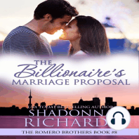 Billionaire's Marriage Proposal, The - The Romero Brothers Book 8