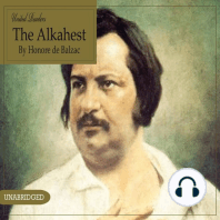 The Alkahest by Honore De Balzac
