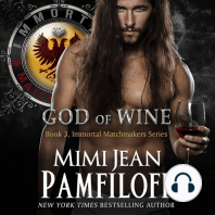 GOD OF WINE: Book #3, The Immortal Matchmakers, Inc. Series