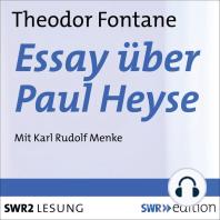 Essay über Paul Heyse