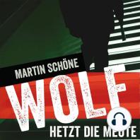 Wolf hetzt die Meute