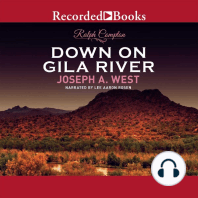 Ralph Compton Down on Gila River