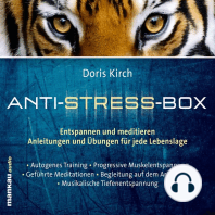 Musikalische Tiefenentspannung (Hörbuch 5 aus der Anti-Stress-Box)