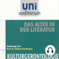 Das Alter in der Literatur