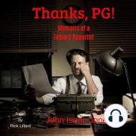 Thanks, PG!