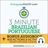 3-Minute Brazilian Portuguese