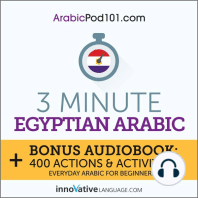 3-Minute Egyptian Arabic
