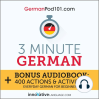 3-Minute German