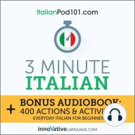 3-Minute Italian