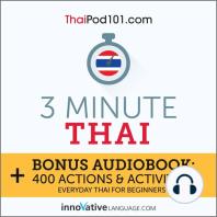 3-Minute Thai