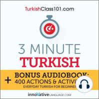 3-Minute Turkish