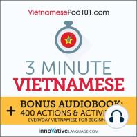 3-Minute Vietnamese