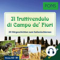 PONS Hörbuch Italienisch - Il fruttivendolo di Campo de' Fiori