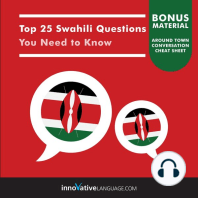 Top 25 Swahili Questions You Need to Know
