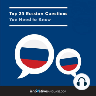 Top 25 Russian Questions You Need to Know