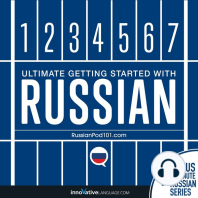 Learn Russian - Ultimate Getting Started with Russian