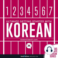 Learn Korean - Ultimate Getting Started with Korean