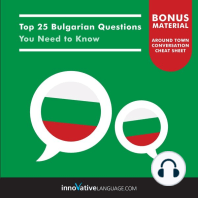 Top 25 Bulgarian Questions You Need to Know