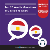 Top 25 Arabic Questions You Need to Know
