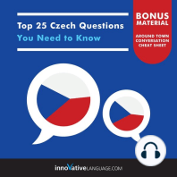 Top 25 Czech Questions You Need to Know